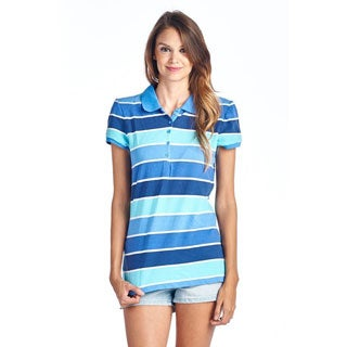 Women's Polo Collar Shirts FG4001-NVYTL