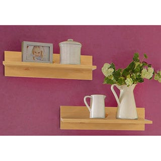 Scandinavian Lifestyle Cornelia Shelves Solid Pine (Set of 2)