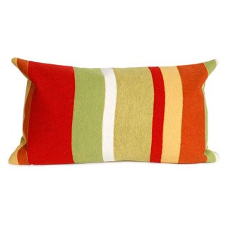 Vertical Stripe Throw Pillow