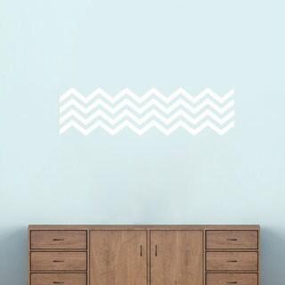 Chevron Stripes' 38 x 10-inch Wall Decals