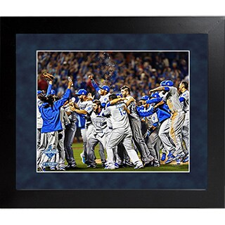 Kansas City Royals 2015 World Series Champions Celebration Framed 16x20 Collage