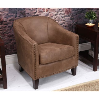 Somette Giles Palance Silt Barrel Chair