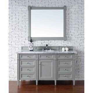 Brittany 60-inch Single Cabinet in Urban Gray