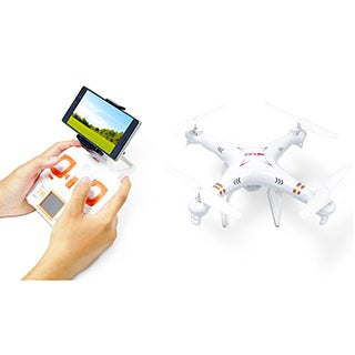 Virgo Smart Drone Kit with Video Camera, FPV Live Streaming, and Remote Controller