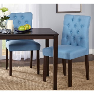 Simple Living Annie Tufted Chair (Set of 2)