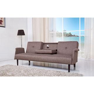 Cambridge Brown Convertible Sofa Bed
