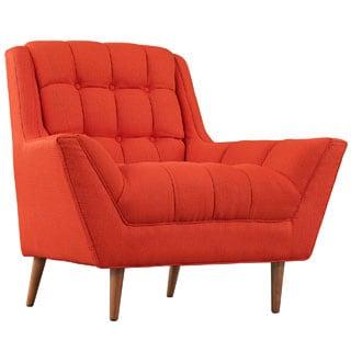 Response Mid Century Fabric Armchair