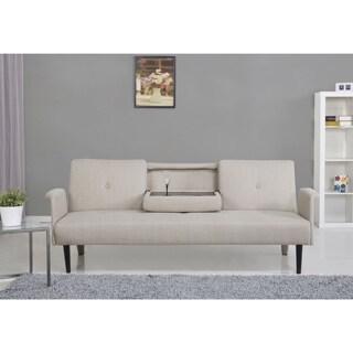 Cambridge Camel Convertible Sofa Bed