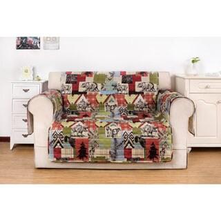 Greenland Home Fashions Rustic Lodge Love Seat Furniture Protector