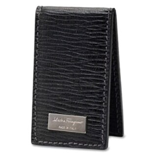 Ferragamo Men's Revival Magnetic Money Clip