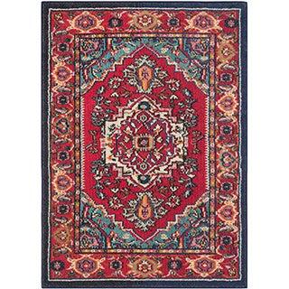 Safavieh Monaco Red/ Turquoise Rug (2'3 x 3'11)