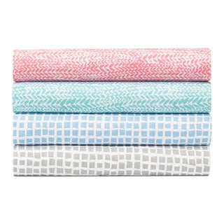 City Scene Cotton Percale Sheet Sets