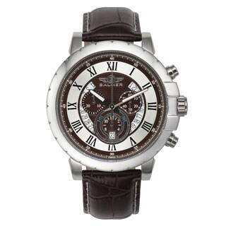 Balmer Atalante Swiss Men's Chronograph Quartz Genuine Leather Strap