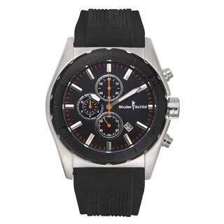 Studer Schild Volta Swiss Quartz Multi-Funtion Chronograph Men's Watch 46 mm Case 22 mm Silicone Strap