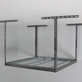 MonsterRax 4' x 4' Overhead Garage Storage Rack