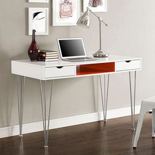 48-inch Color Accent Desk - Orange