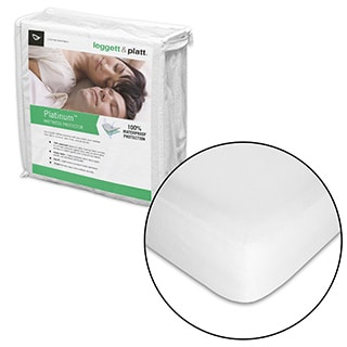 Fashion Bed Group Platinum Mattress Protector with Stain and Dust Mite Defense