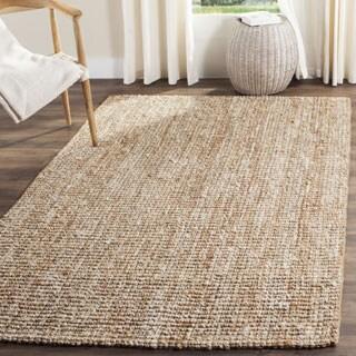Safavieh Hand-woven Natural Fiber Natual/ Ivory Chunky Thick Jute Rug (9' x 12')