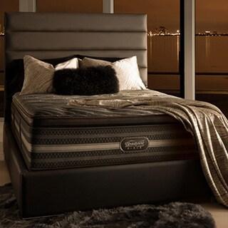 Simmons Beautyrest Black Natasha Plush Pillow Top Queen Size Mattress Set