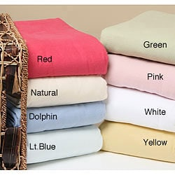 Luxury Lightweight Cotton Flannel Blanket