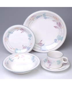 studio nova tender bloom 20 pc dinnerware set overstock