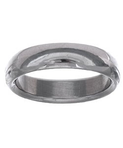 Men&#39;s Tungsten Carbide Dome Wedding Band (5.5 mm)