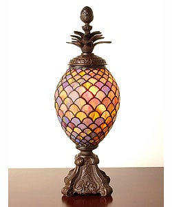 Tiffany-style Pineapple Shape Lamp