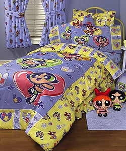 Powerpuff Girls Heart to Heart Bed-in-a-Bag