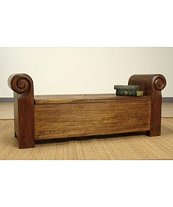 Colonial Trunk Bench (Colombia)