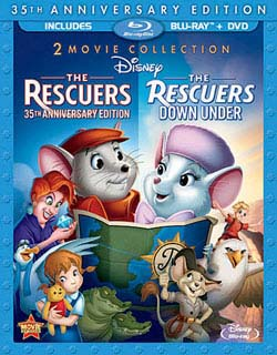 The Rescuers / The Rescuers Down Under - 35th Anniversary Edition (Blu-ray/DVD)