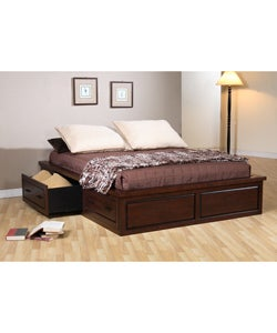 Garret Queen Platform Bed with Drawers