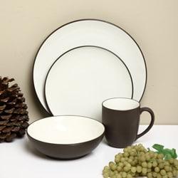 Noritake Colorwave 16-piece Chocolate Dinnerware Set