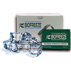 Biofreeze 24-ct Pain-relieving Wipes with Menthol and ILEX (Pack of 6)