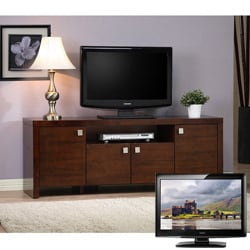 Como Entertainment Center and 42-inch LCD Haier TV Bundle