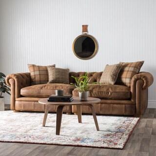 Franklin Leather Grand Sofa