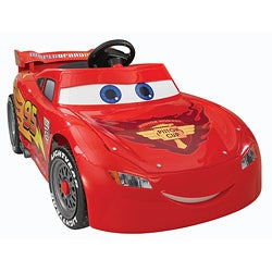 Product Features for Power Wheels Lightning McQueen.