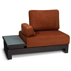 Intersection Copper Sofa with Left Side Table