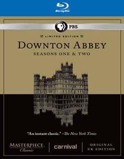 Masterpiece Classic: Downton Abbey Seasons One & Two Set (Blu-ray Disc)