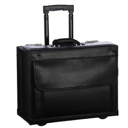 Amerileather Black Wheeled Catalog Case