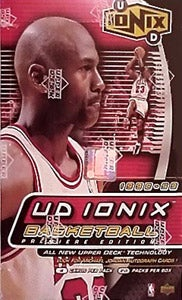 Upper Deck 1998/99 'Ionix' Basketball Box
