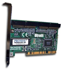 Promise Technology Ultra 66 PCI Controller Card (Refurbished)