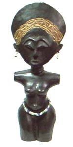 Ashanti Small Fertility Statue (Ghana)