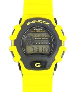 Casio G-Shock Men's Yellow Rubber Band Watch