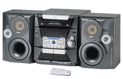 RCA RS2604 Stereo System with 5-disc CD Changer (Refurbished)
