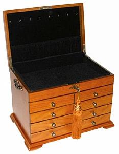 Thomas Pacconi Large Jewelry Box