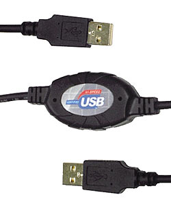 Computer-to-Computer USB Networking Cable