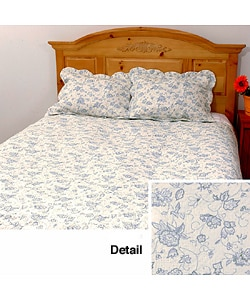 Veronica Cotton Patchwork Quilt Set