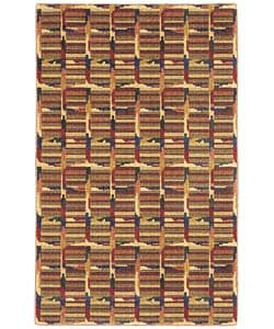 Larousse Multi-color Wool Rug (7'10 x 11')