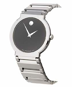 Movado Valor Men's Silvertone Watch