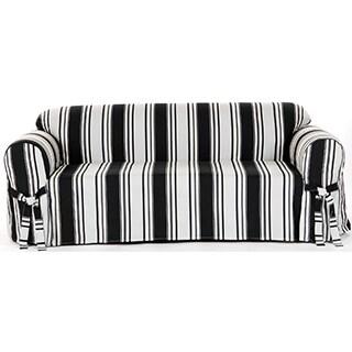 Classic Stripe Sofa Slipcover